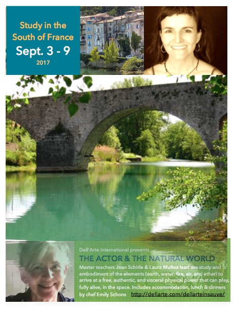Workshop: The Actor & The Natural World, Sauve, France