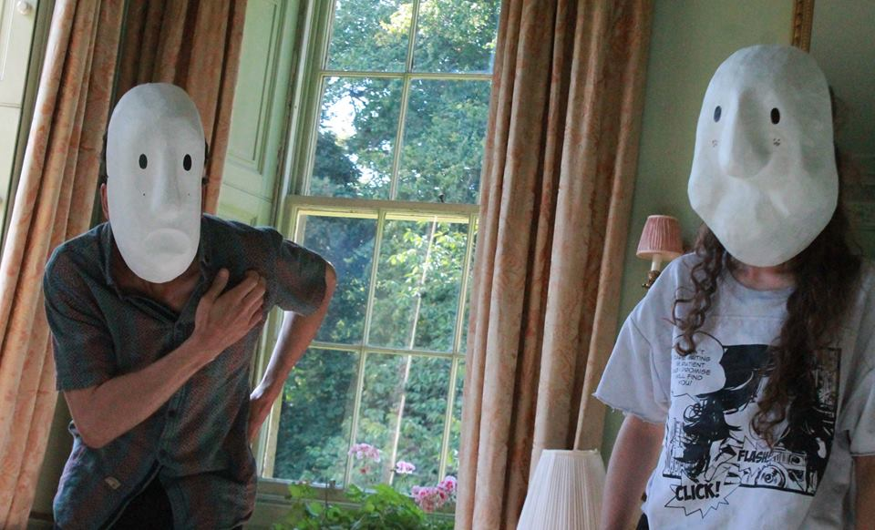 Making Faces Theatre ·   Larval Mask Research  2-4pm, 13th August 2017