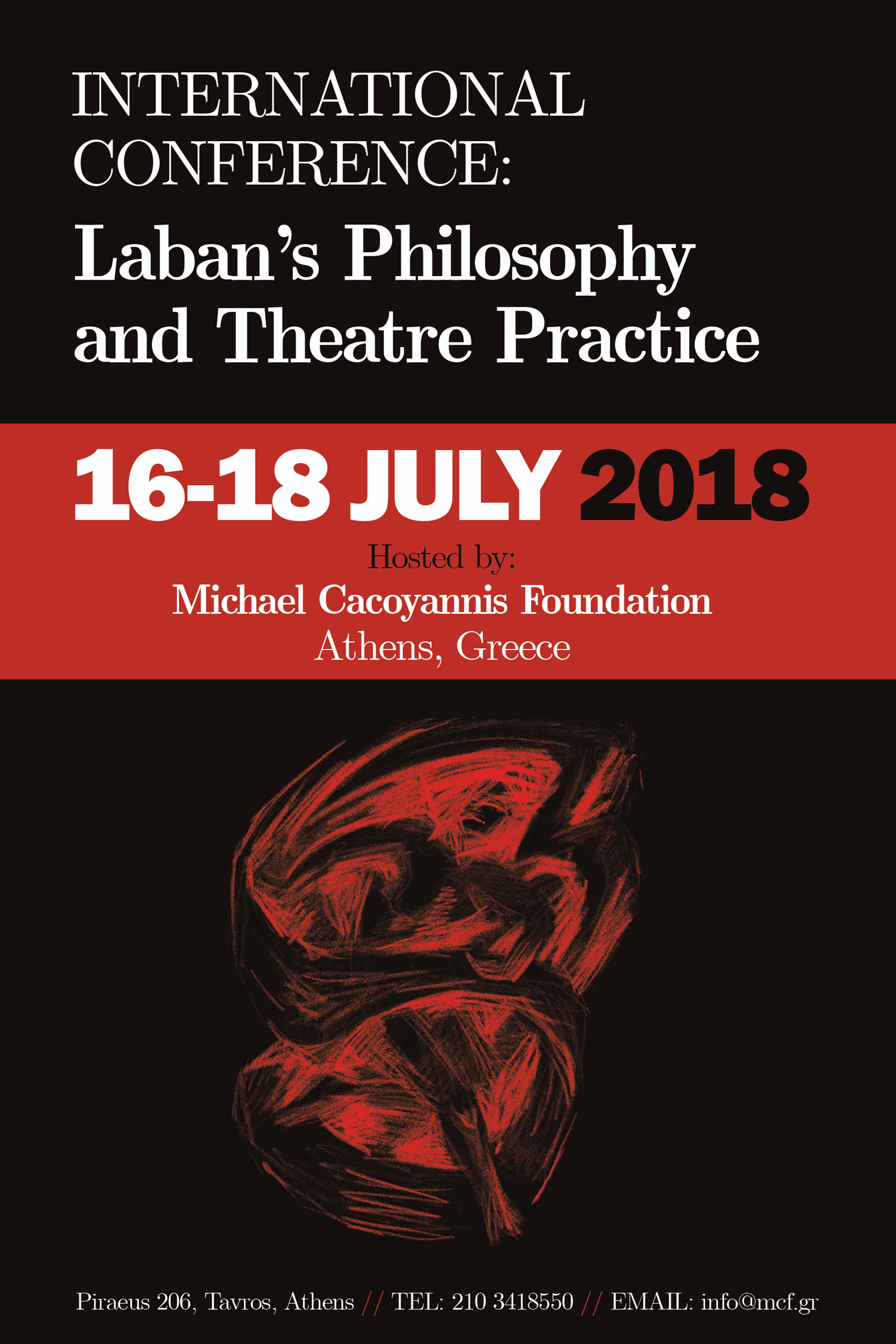 International Conference: Laban's Philosophy and Theatre Practice    16-18 July 2018 – Athens